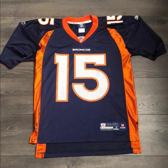 newest 7d75f 4b9bb Tim Tebow Broncos Football Jersey Reebok